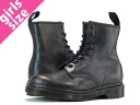 8 Dr.Martens 1,460W 8-EYE BOOT R13661002 doctor Martin hall boots LITTLE FLOWERS BLACK