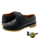 3989 13844001 3989 Dr.Martens BROGUE SHOE doctor Martin brogue shoes BLACK