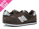 NEW BALANCE KL574CSY-new balance KL574CSY BROWN/GREY fs3gm