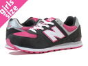 NEW BALANCE KL574RPG New Balance KL574RPG BLACK/PINK/WHITE