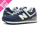 NEW BALANCE ML574ANA-new balance ML 574 ANA NAVY/WHITE
