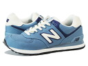 NEW BALANCE ML574RUC-new balance ML574RUC BLUE/IVORY