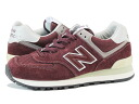 NEW BALANCE ML574VB-new balance ML574VB DEEP RED