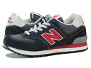 NEW BALANCE ML574VDN New Balance ML574VDN BLACK/GREY/RED