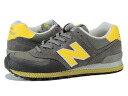 NEW BALANCE ML574WK-new balance ML574WK GRAY/YELLOW