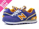 NEW BALANCE WL574SJK-new balance WL574SJK PURPLE/YELLOW