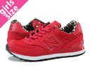 NEW BALANCE WL574SPR-new balance WL574SPR RED/LEOPARD fs3gm