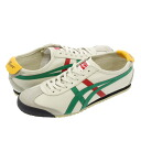 66 66 Onitsuka Tiger MEXICO Onitsuka tiger Mexico NATURAL/GREEN/RED