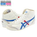 Onitsuka Tiger MEXICO MID RUNNER Onitsuka tiger Mexico mid runner WHITE/BLUE/RED