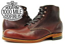 WOLVERINE 1,000 MILE BOOT PLAIN TOE BOOT Wolverine / Wolverine planet boots RUST