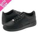NIKE AIR FORCE 1 LOW GS Nike Air Force 1 low GS BLACK