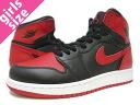 NIKE AIR JORDAN 1 RETRO 60 + GS Nike Air Jordan 1 retro GS RED/BLACK