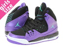 NIKE AIR JORDAN SC-1 GS Nike Air Jordan SC1 GS BLACK/PURPLE