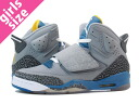 NIKE JORDAN SON OF MARS GS Nike Jordan サンオブ Mars GS GREY/BLUE/YELLOW