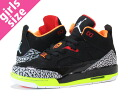 NIKE JORDAN SON OF MARS LOW GS Nike Jordan サンオブ Mars low GS BLACK/VOLT/RED fs3gm