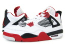 NIKE AIR JORDAN 4 Nike エアージョーダン 4 retro WHITE/VARSITY RED/BLACK
