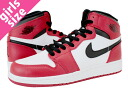 1 NIKE AIR JORDAN RETRO HIGH OG GS nike Air Jordan 1 nostalgic high GS WHITE/RED/BLACK