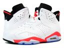 NIKE AIR JORDAN 6 RETRO Nike Air Jordan 6 retro WHITE/INFRARED/BLACK