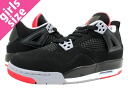 NIKE AIR JORDAN4 RETRO GS エアージョーダン 4 GS BLACK/RED
