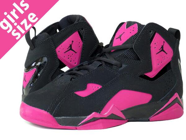Nike Air Jordan True Flights Black And Pink   Provincial ...
