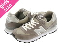 NEW BALANCE M574GS-new balance M 574 GS W574GS GREY gray