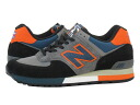NEW BALANCE M576EBO-new balance M576EBO GREY/ORANGE