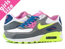 90 2007 90 2007 NIKE AIR MAX GS Kie Ney AMAX GS WHITE/VOLT/BLUE/PINK/GREY