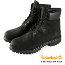 BOOT TIMBERLAND 6inch Timberland 6 inch boots BLACK