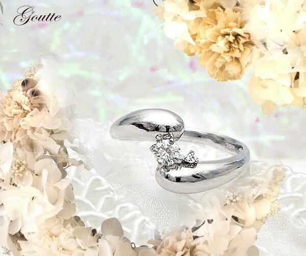 0.11ctダイヤモンドリング VS~SIクラス無色透明