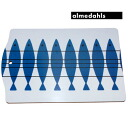 An almedahls( armet Dahl's) fish rectangle (30 x 20cm) (Swedish ,Marianne Nilssonn, herring, cutting board, cutting board, lunch plate gift)