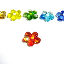 Quantities limited Germany glass 6 color and chopstick flowers (set of 6) Contento Inc. (* is returned non-products)