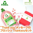 フロッシュサンキュー (Thank you) gift set (sponge wipe, sponge, kitchen wash) wedding present, celebration of baby gift moving present popularity wedding present 10P13Dec13 New Year's greetings kitchen detergent sale