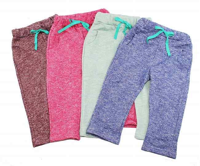 韩国孩子衣服汗裤子裤子底部男孩女孩孩子 4 色 90 100 110 120 130 c