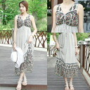 Maxi resort ethnic floral high waist transition piece Maxi one piece sleeveless long one piece ladies fashion maternity dresses