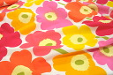 Sample half & half cut cloth marimekko Marimekko UNIKKO PIENI ピエニウニッコ 70 × 50 cm Scandinavian fabrics / cloth