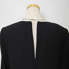 ブラックフォーマル3点セットパンツスーツ(喪服