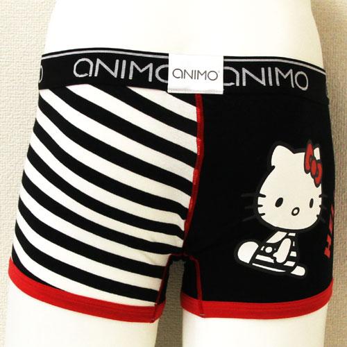 ANIMOアニモ/Hello Kitty Border ハローキティー(ブラック)メンズ