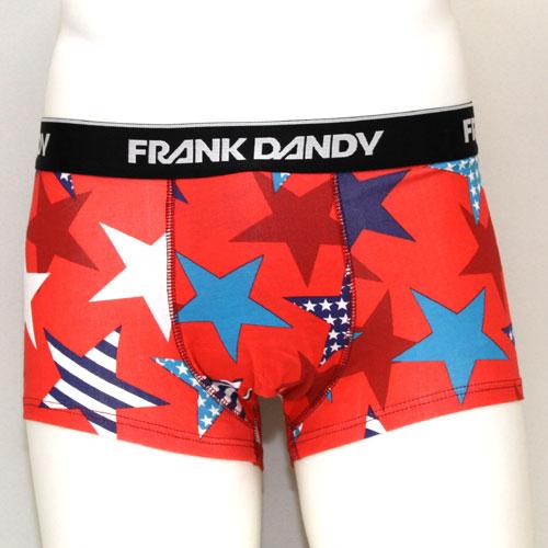 FRANK DANDY/Superstars Short Boxer(レッド) フランクダンディー