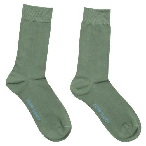 FRANK DANDY/Bamboo Socks Solid Green(グリーン) フランクダンディー