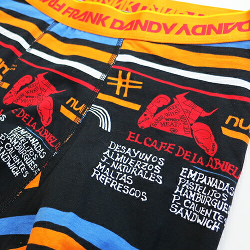 FRANK DANDY/ArtPastelito  Boxer(ブラック) フランクダンディー