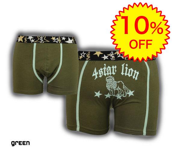 10%OFF】4SL-4STAR LIONフォースターライオン/4STAR LION-GREEN グリーン