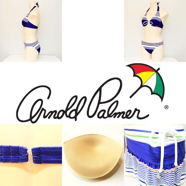 3点セット/ARNOLD PALMER アーノルドパーマー/APクリケットスカート付き3点セット【ビキニ】【水着】