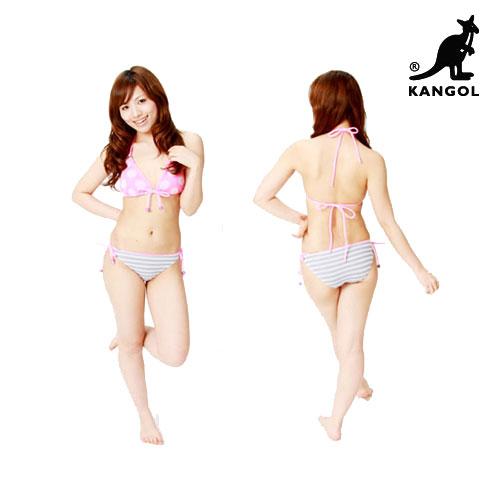 KANGOL カンゴールニットビキニ/ニットビキニ【ビキニ】【水着】