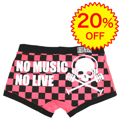 20%OFF】CMD/SLAVE OF MUSIC(市松ピンク×ブラック) シーエムディー