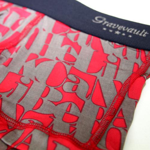 Gravevault/Genso ローライズ(ピンク×グレー)グレイブボールト