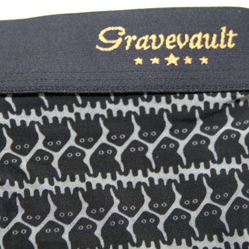 Gravevault/ヤブノケンセイAlienローライズ(グレー×ブラック)グレイブボールト