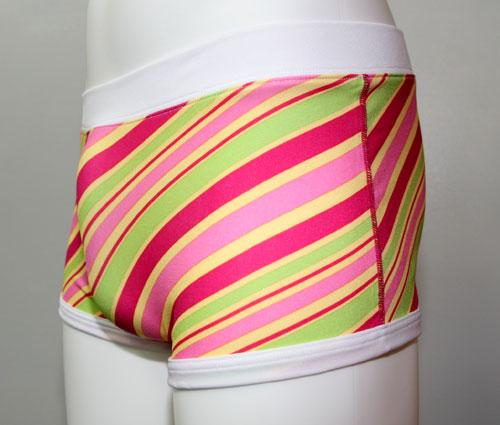 GENDER ジェンダー/Slant-Strip ボクサーパンツ ピンク