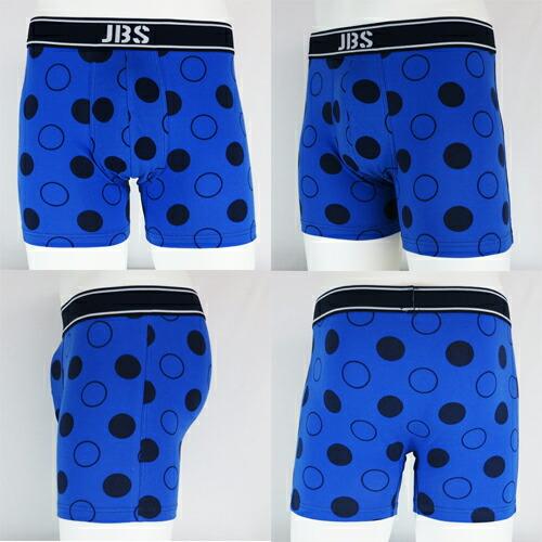 JBS/CLASSIC ドット柄(ブルー×ブラック) ジェイビーエス