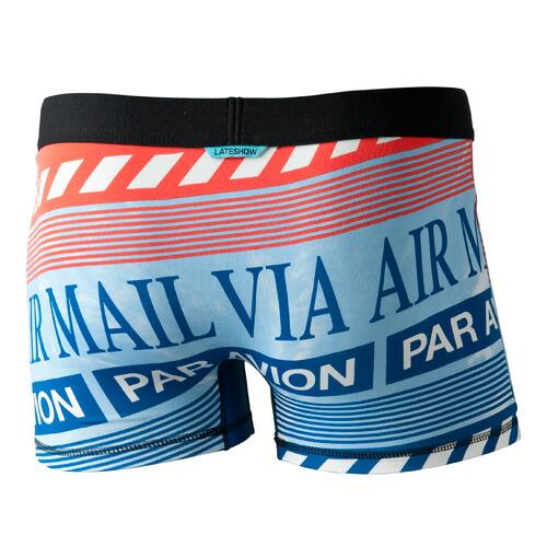 LATESHOW レイトショー/VIA AIR MAIL(ブルー)