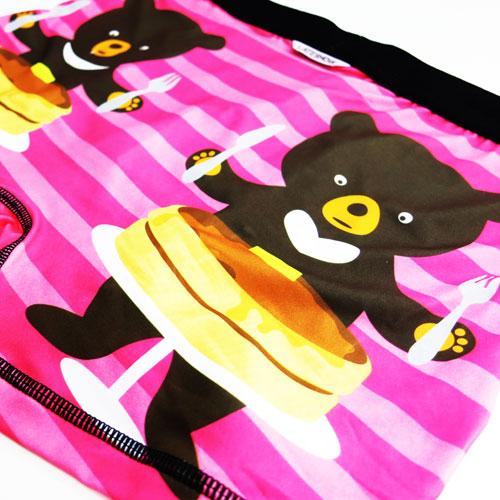 LATESHOW レイトショー/BEAR BEE&PANCAKE (ピンク)
